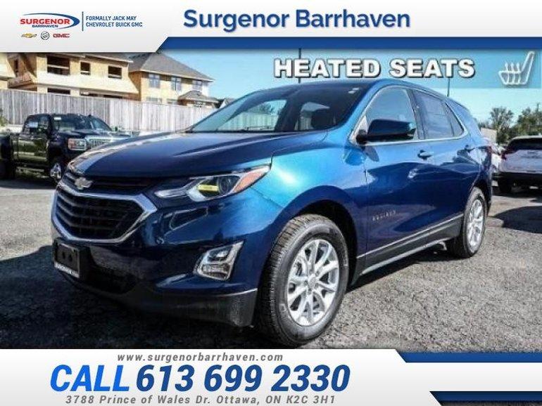 Chevrolet Equinox LT  - Bluetooth -  Heated Seats - $185.60 B/W 2019