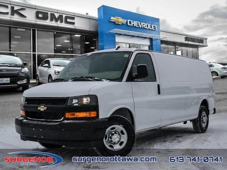 2018 Chevrolet Express Cargo Van WT  - Certified - $199.92 B/W