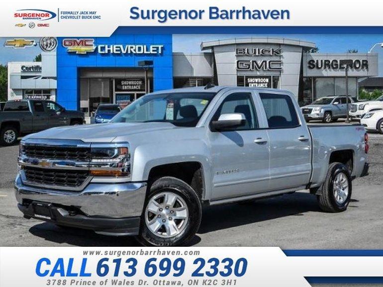 Chevrolet Silverado 1500 LT  - Crew - 4x4 - 293 BW 2017
