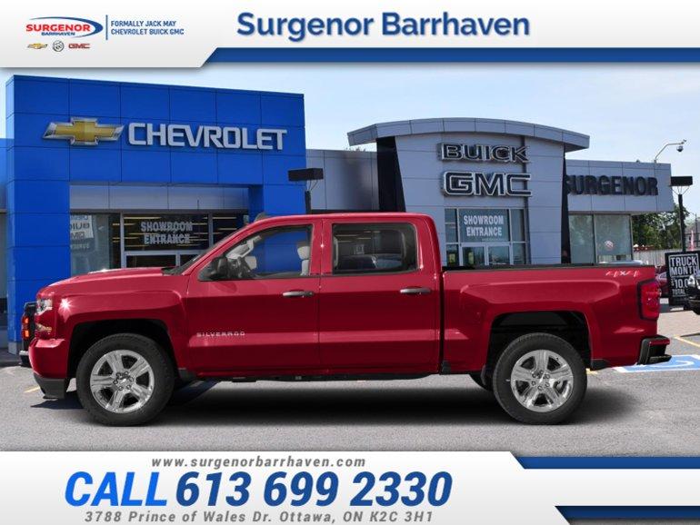 Chevrolet Silverado 1500 Custom  - $303.15 B/W 2018