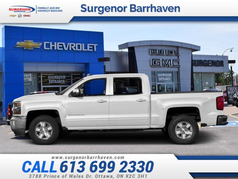 Chevrolet Silverado 1500 LT  - Z71 - $336.91 B/W 2018