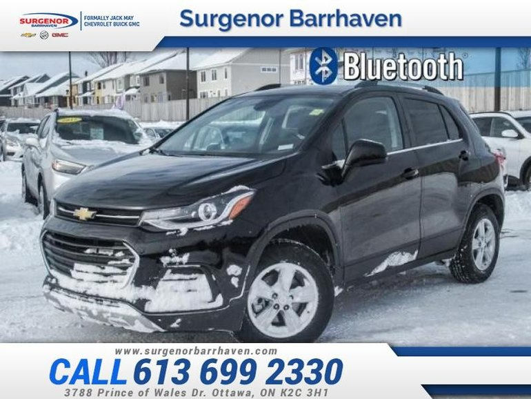 used 2017 chevrolet trax lt - awd - sunroof - true north for sale