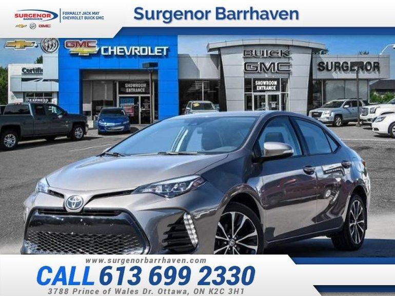 2017 Toyota Corolla SE  - Bluetooth - $119.27 B/W