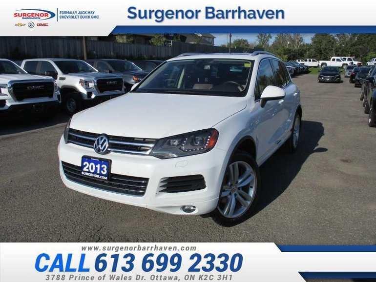 2013 Volkswagen Touareg 3.6 Execline  - Navigation - $183 B/W