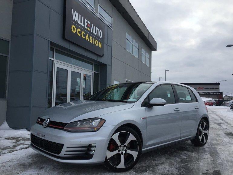 Volkswagen GTI AUTOBAHN**GPS, AIDE CONDUITE, SENSOR, ETC** 2016