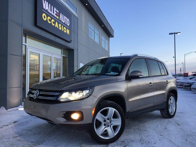 Volkswagen Tiguan CL AWD**CAMÉRA RECUL, BLUETOOTH, SIMILICUIR, ETC** 2015