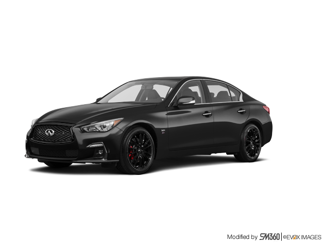 2019 Infiniti Q50 3.0T I-Line Red Sport 400 AWD (2)