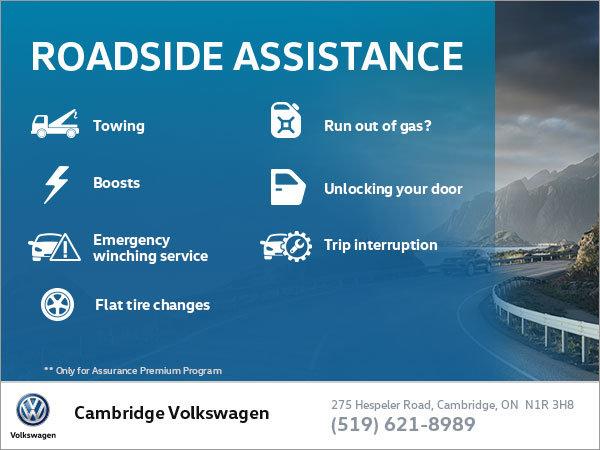 Volkswagen Roadside Assistance