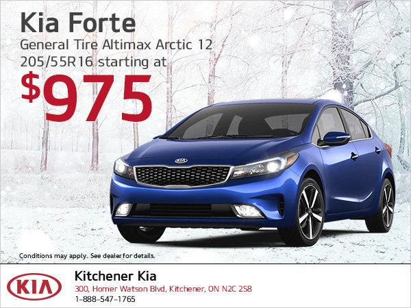 Kia Forte   Winter tire special