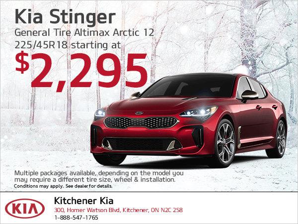 Kia Stinger | Winter tire special