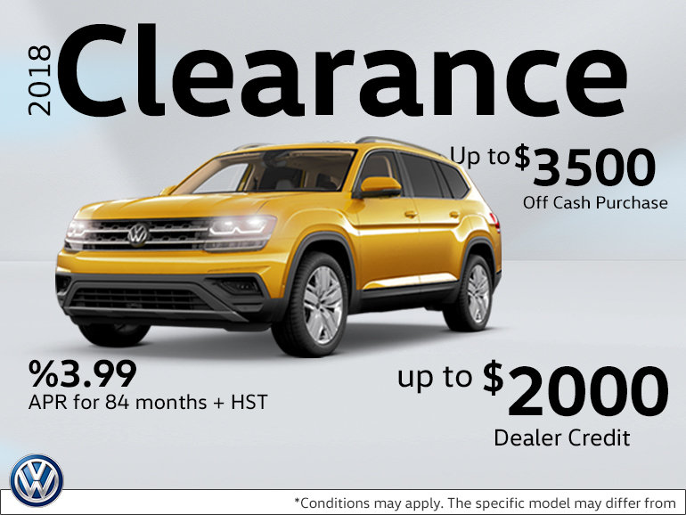 2018 Atlas Clearance Special