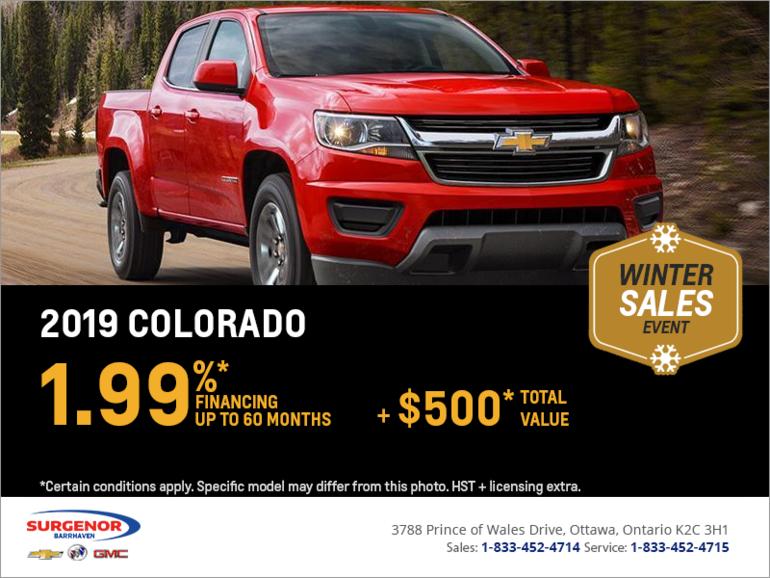 Finance the 2019 Chevrolet Colorado