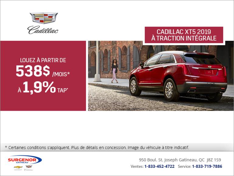 Cadillac XT5 2019