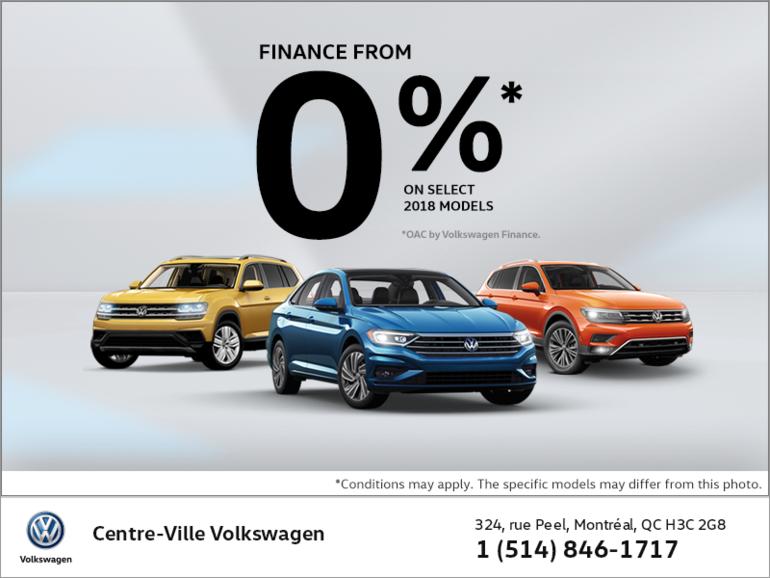 Volkswagen's monthly sales event!