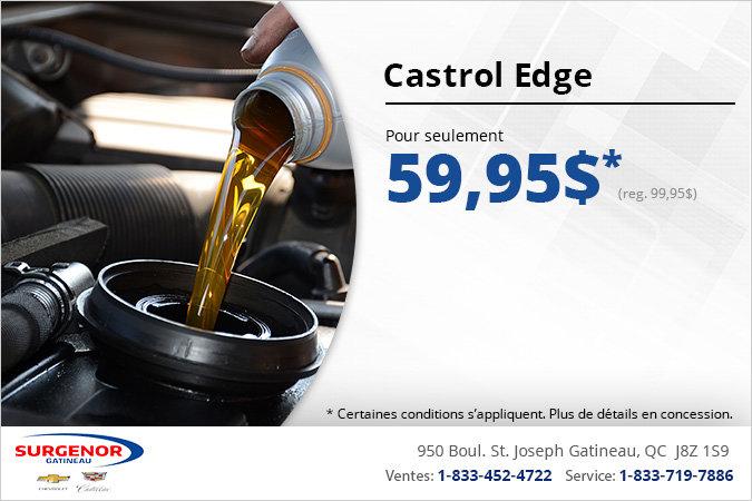 Huile à moteur Castrol Edge