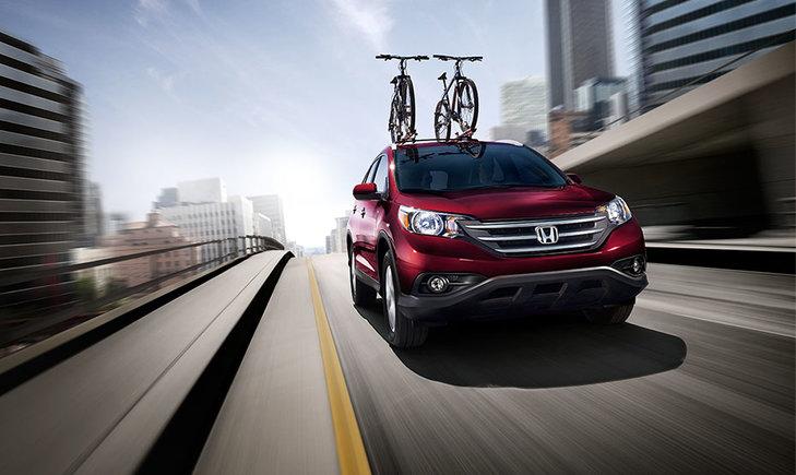 2014 Honda CR-V – Spacious and fuel-efficient