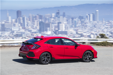 2018 Honda Civic Hatchback: bringing cargo space to the compact car in Montreal, Quebec