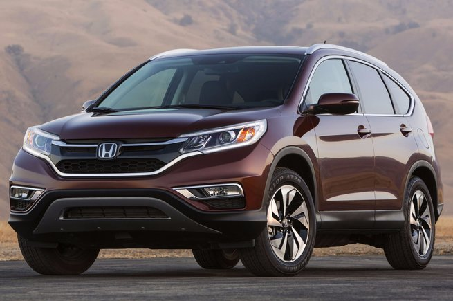 2015 Honda CR-V: same, but redesigned