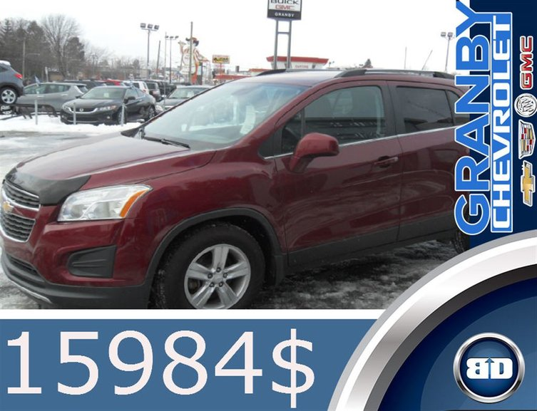 Chevrolet Trax LT MAGS 43052 KM SEULEMENT 2015