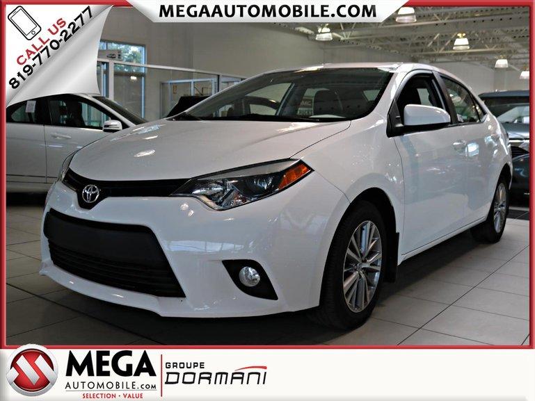 2014 Toyota Corolla LE RCAM