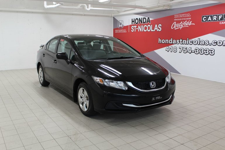 Honda Civic Sedan LX + AUTOMATIQUE + SIEGES CHAUFFANTS 2014