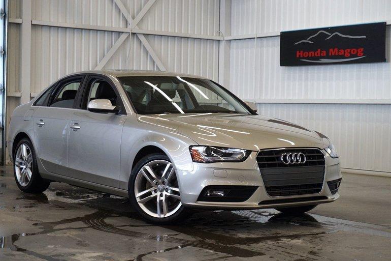 2014 Audi A4 Quatro Technik