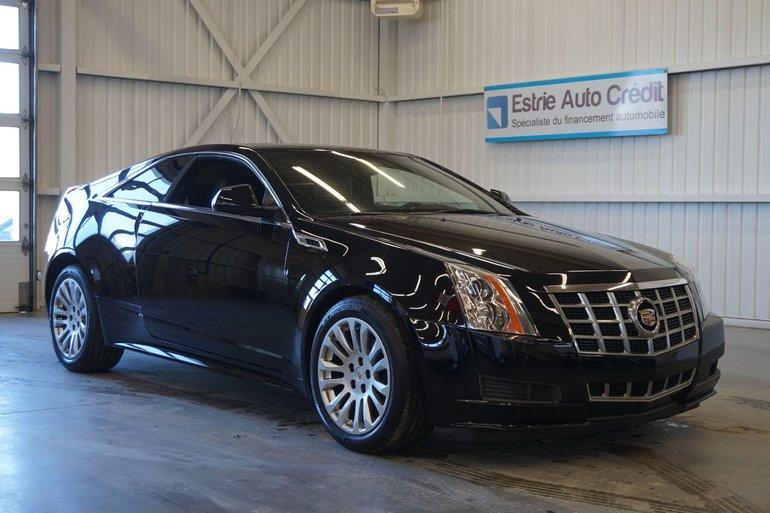 Cadillac CTS 4 Coupe (cuir-sonar de recul) 2014