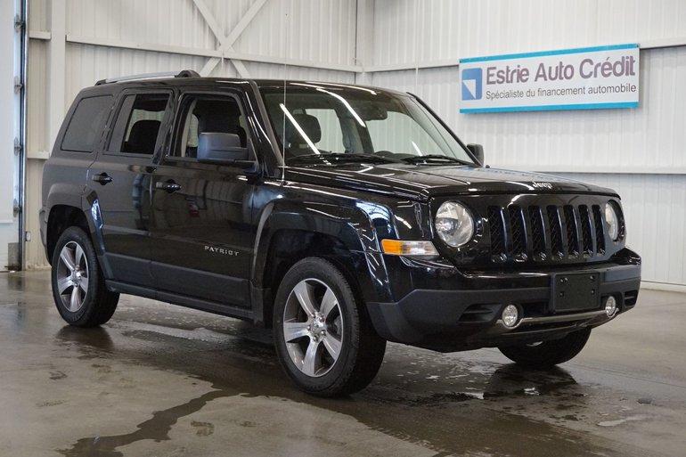 Jeep Patriot High Altitude 4WD (cuir) 2017