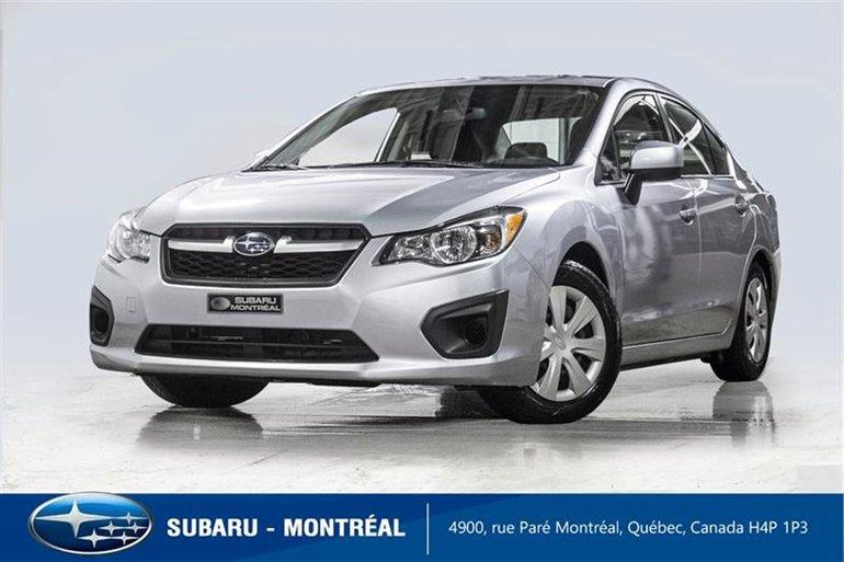 Subaru Impreza 2.0i 2014