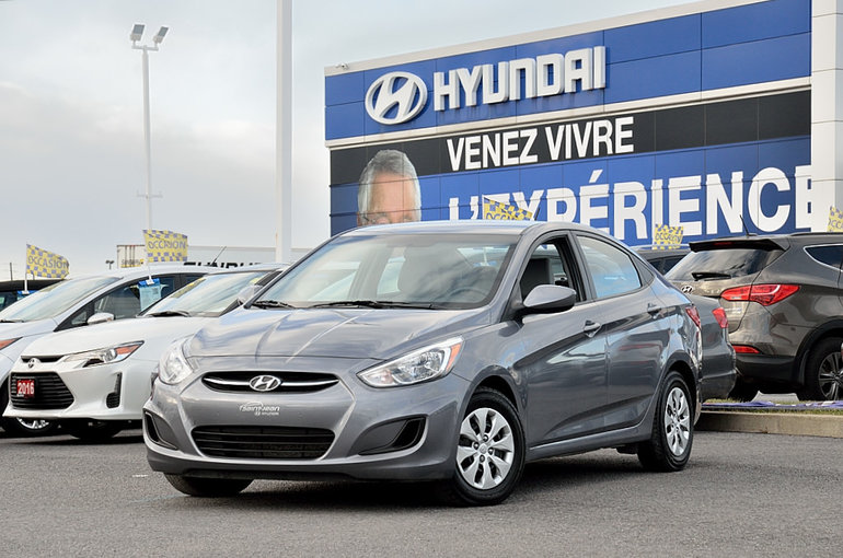 2016 Hyundai Accent GL SIÈGES CHAUFFANTS