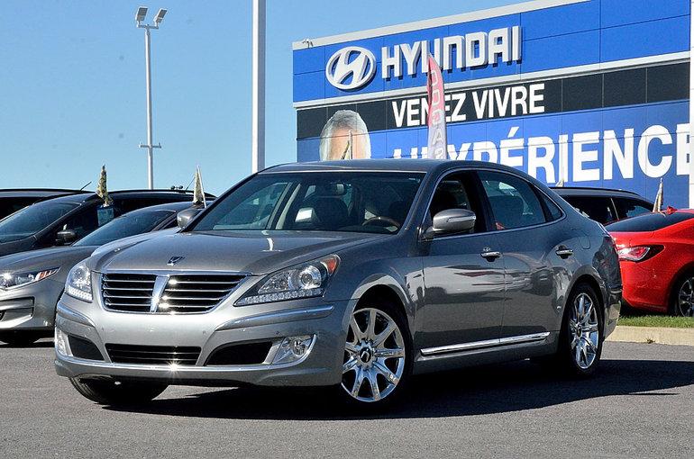 2011 Hyundai Equus ÉDITION SIGNATURE * V8 4.6L * 385 CHEVAUX *