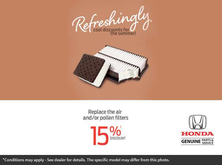 Refreshingly Cool Discounts for the Summer!
