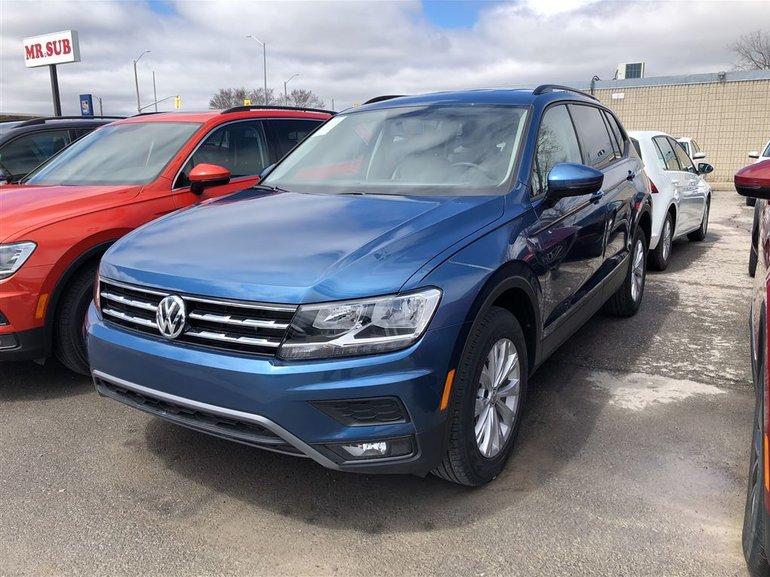 2018 Volkswagen Tiguan TRENDLINE 4MOTION