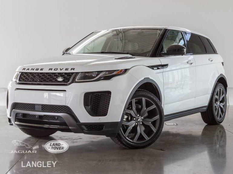 2018 Land Rover Range Rover Evoque 286hp Autobiography
