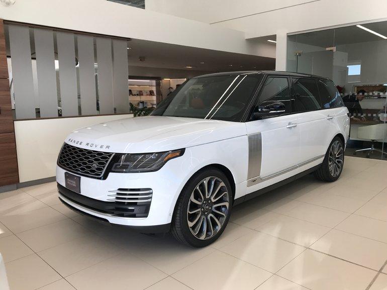 New 2019 Land Rover Range Rover V8 Autobiography
