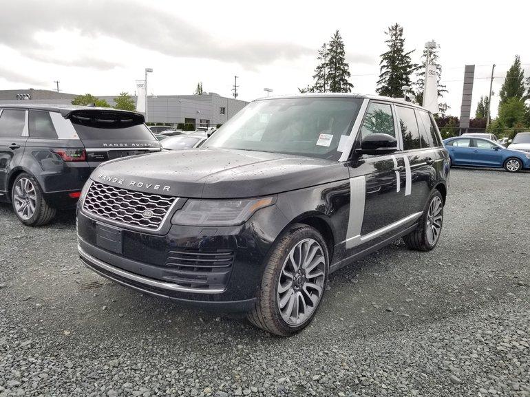 2019 Land Rover Range Rover V8 Supercharged SWB