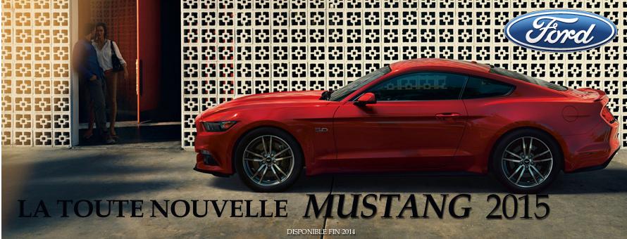 Header Ford Mustang 2015