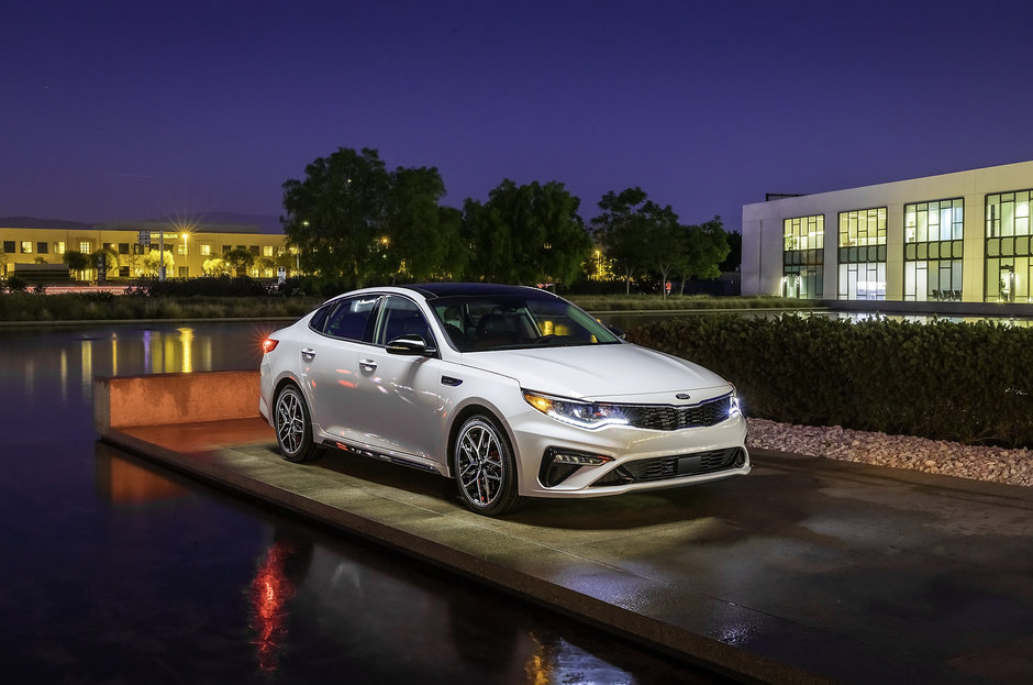 Kia Optima 2019: le luxe abordable