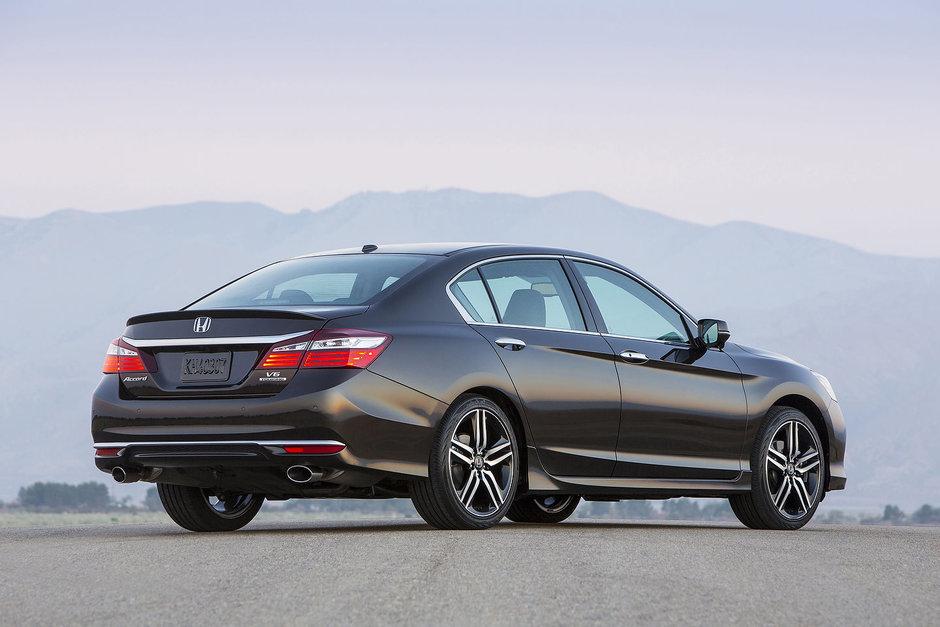 Cinq chiffres qui résument la Honda Accord 2019