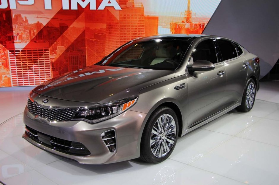 New 2016 Kia Optima debuts in New York