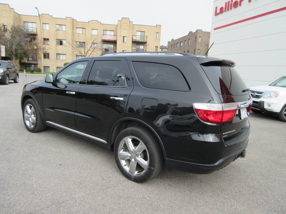 dodge durango citadel 2012 d 39 occasion lallier honda montreal. Black Bedroom Furniture Sets. Home Design Ideas