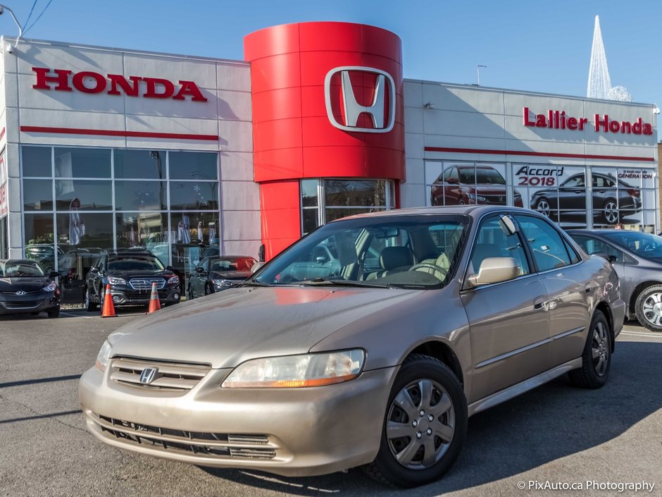 2002 honda accord ex l intrieur en cuir