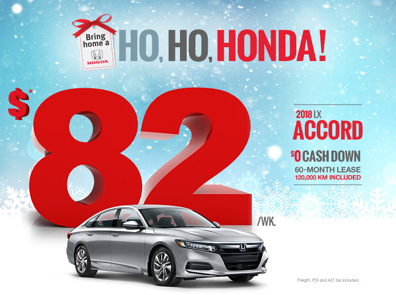 Bring home a Honda - Accord