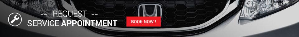 Promo service banner Honda