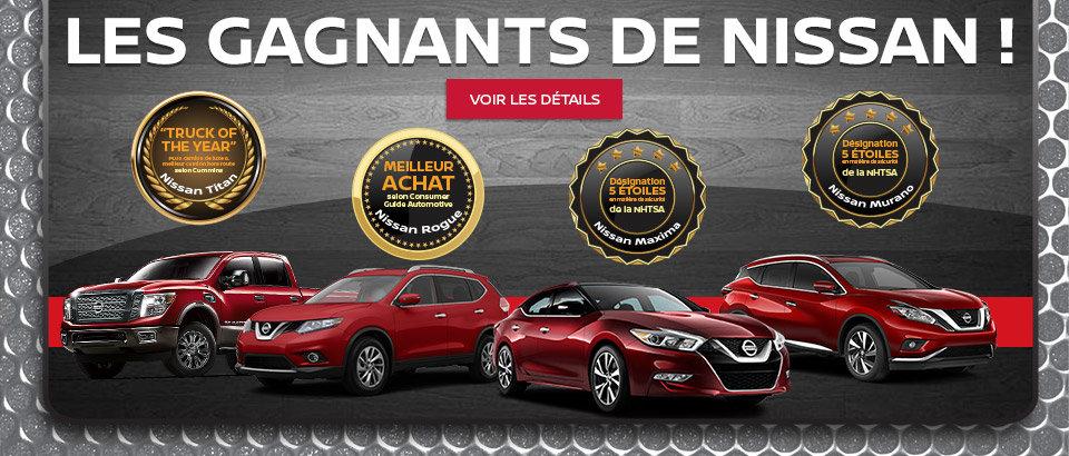 Les gagnants de Nissan