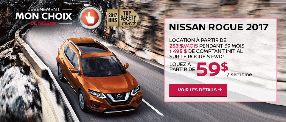 L'événement mon choix de Nissan - Rogue