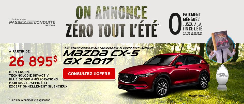 L'ami Mazda Phase 2 MCX5 - Mai 2017